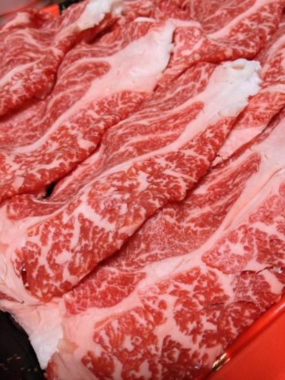 特別な日に食べるすき焼き用高級牛肉