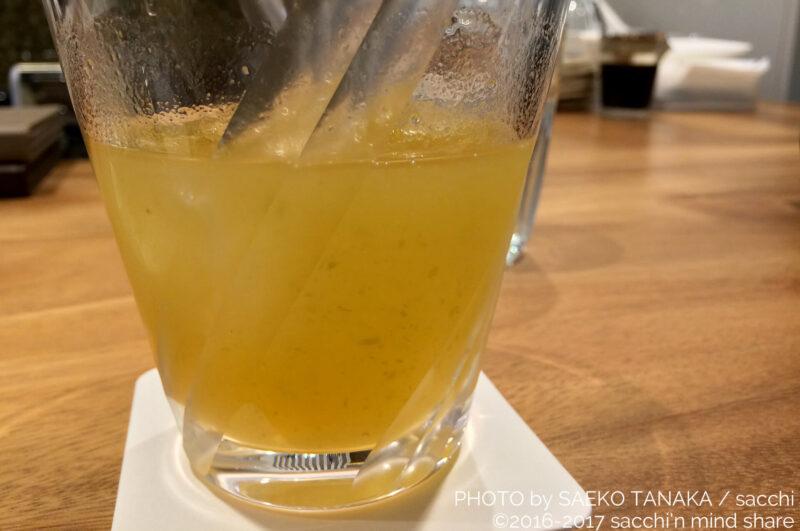 日本橋・コレド室町「八海山千年こうじや」店舗併設のダイニングバーで提供している梅酒