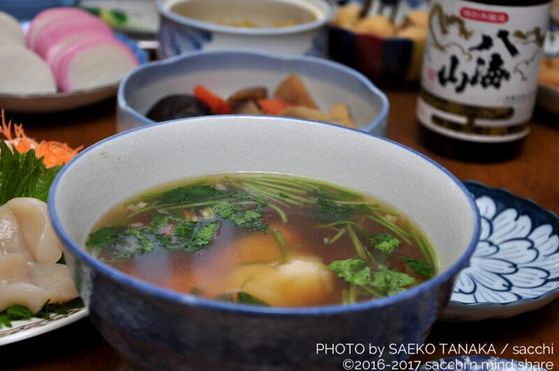 関東・東京の我が家の正月料理・お雑煮