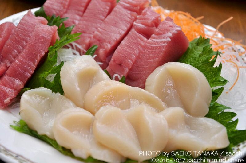 関東・東京の我が家の正月料理・お刺身