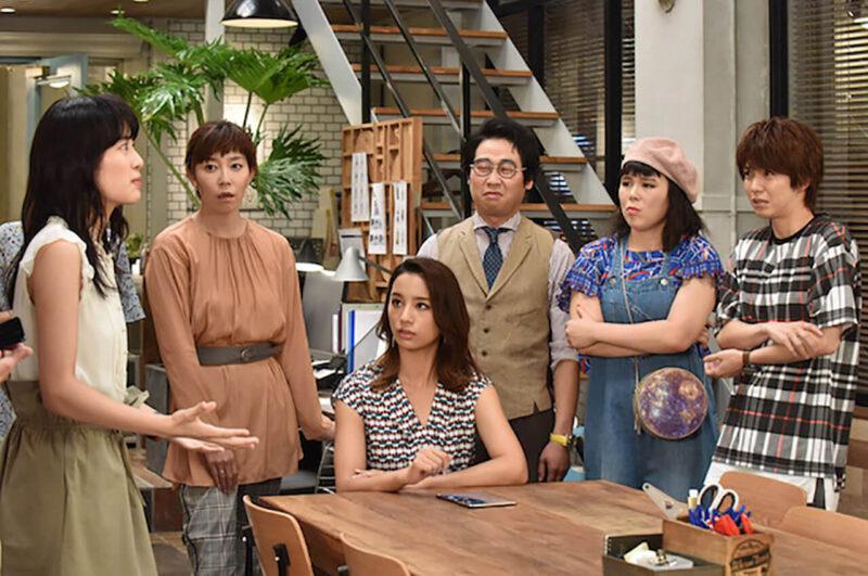日テレドラマ「サバイバル・ウェディング」の高橋メアリージュンと須藤理彩と共演者