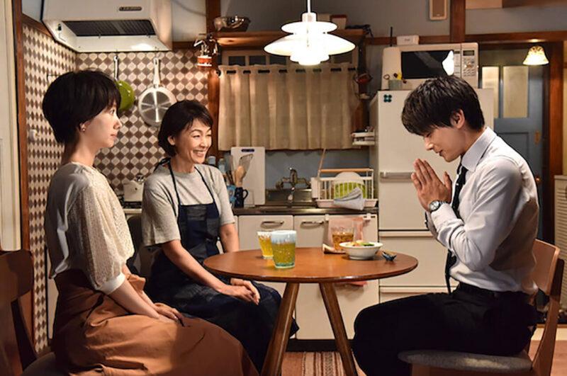 日テレドラマ「サバイバル・ウェディング」の波瑠と吉沢亮と財前直見