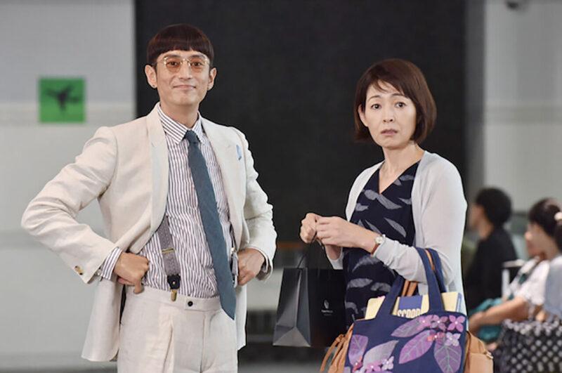 日テレドラマ「サバイバル・ウェディング」の財前直見と伊勢谷友介