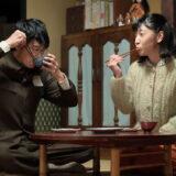 NHK朝ドラ「まんぷく」の安藤サクラと長谷川博己