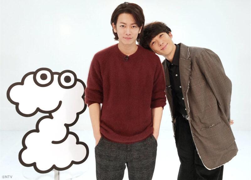 日テレ「ZIP!」公式Twitter掲載の佐藤健と高橋一生