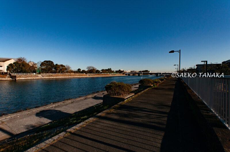 昭和島の見晴らしばしと見晴らしばし公園