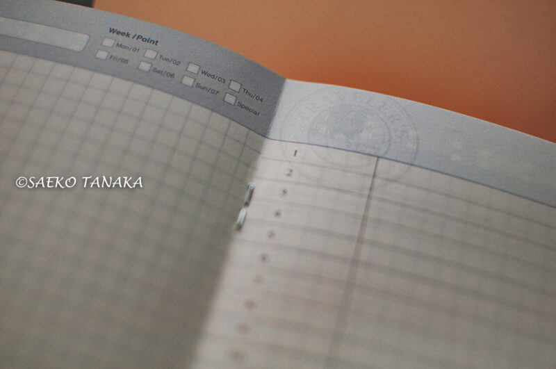 スケジュール管理だけでなく、手帳デコ・コラージュ・スクラップ・アイデアメモ・情報集約・日記・イラスト描き・カスタマイズでも楽しめて最適な、トラベラーズノートの日記リフィル紙面