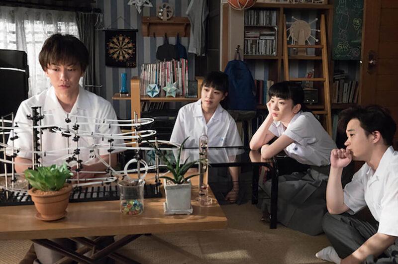 NHK連続テレビ小説「半分、青い。」の佐藤健・矢本悠馬・永野芽郁・奈緒