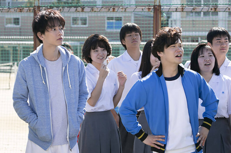 NHK連続テレビ小説「半分、青い。」の佐藤健・矢本悠馬