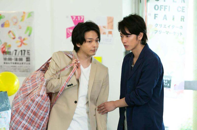 NHK朝ドラ「半分、青い。」の佐藤健と中村倫也
