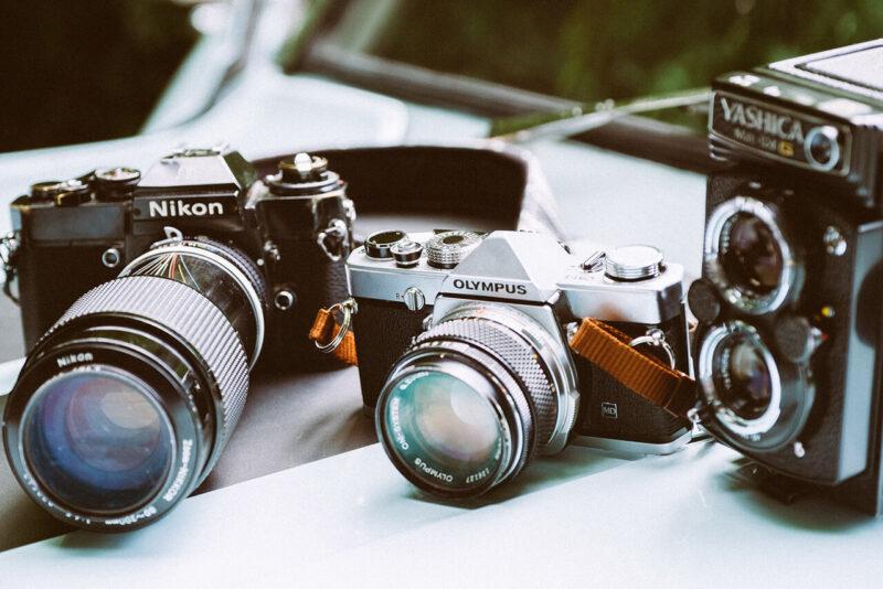 ニコンのデジタル一眼レフカメラ