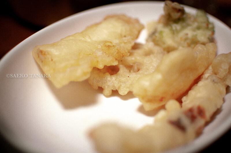 関東・東京の田中家の年越しそばに使用した天ぷら