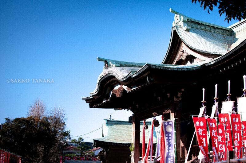 2020年1月1月元日の東京大田区大森・貴船神社