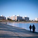 東京都大田区大森の「大森ふるさとの浜辺公園」
