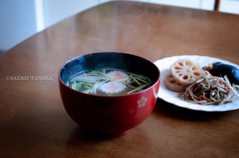 関東・東京の我が家のお正月料理・お雑煮と煮物