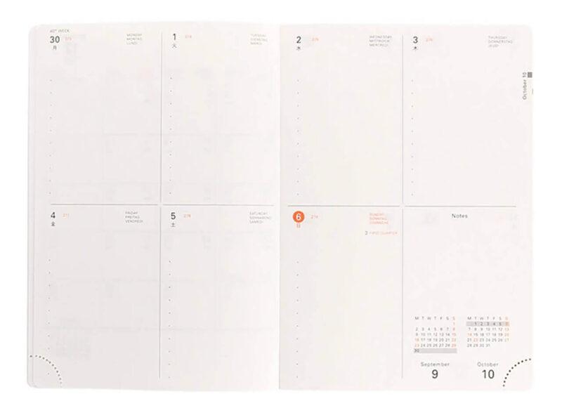 手帳を家計簿代わりにするときにもおすすめのDELFONICS/デルフォニックス ブロック型