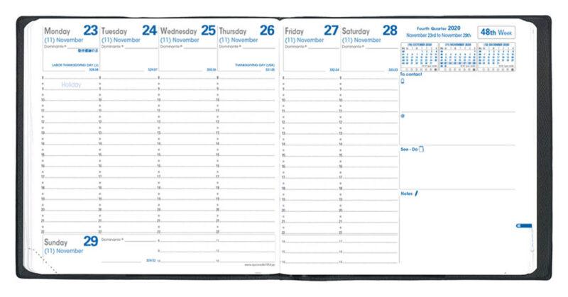 手帳を家計簿代わりにするときにもおすすめのQUOVADIS/クオバディス エグゼクティブ