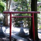 満開の紅梅白梅が楽しめる東京の梅名所、谷保天満宮にある稲荷