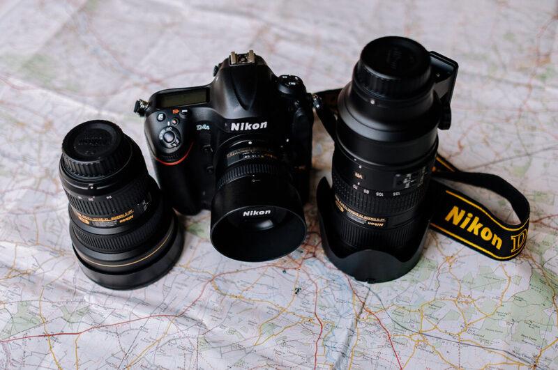高性能でデザインも優れたNikonの一眼レフデジタルカメラとレンズ