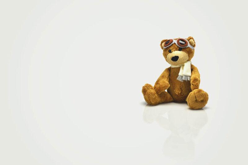 Amazon『年末の贈り物セール』を利用して賢く安くお得に購入した子供のクリスマスプレゼントのくまのぬいぐるみ