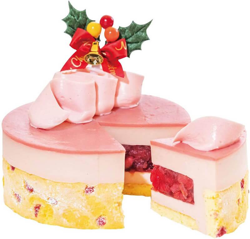 おうちクリスマスを楽しむために便利なAmazonで購入した、口コミ・レビュー人気が高い『神戸PATICO/パティコ』のおしゃれでお得で美味しいクリスマスケーキ『ノエル・ポムフレーズ』