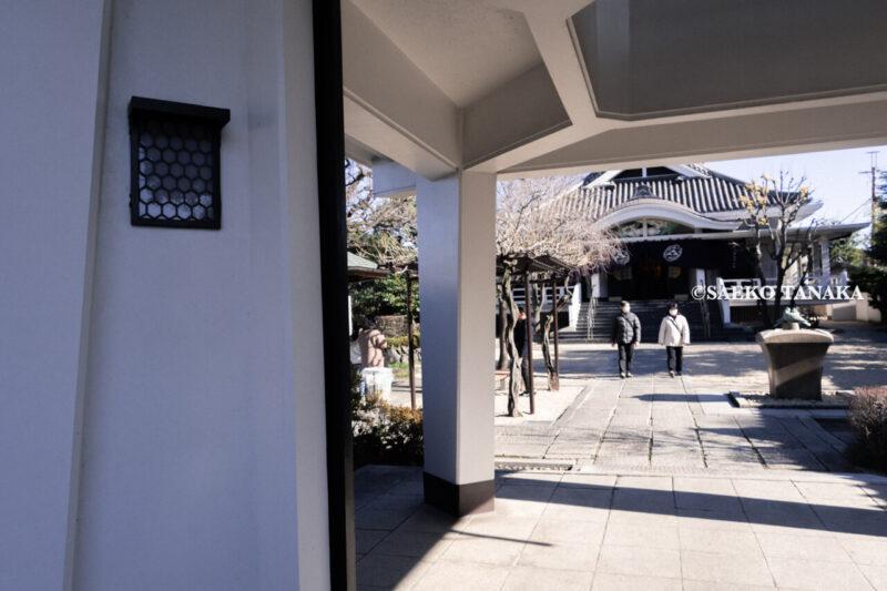 年末年始のお正月休みに出かけた菩提寺、東京都大田区大森東にある『厳正寺』の境内