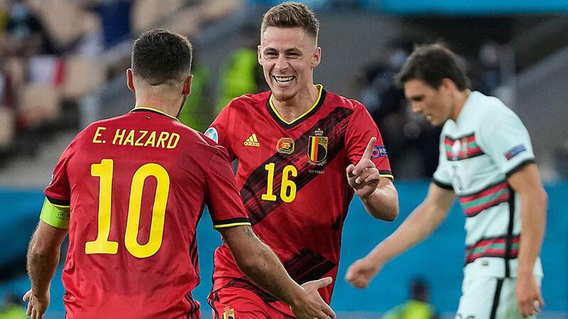 ユーロ2020 決勝トーナメント / ラウンド16 2021年6月27日(日)/日本時間同28日(月)ベルギーVSポルトガル戦(試合開催地:エスタディオ・オリンピコ・デ・ラ・カルトゥーハ スペイン / セビリア)