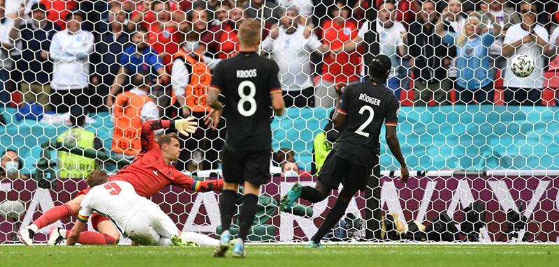 ユーロ2020 決勝トーナメント / ラウンド16 2021年6月29日(火)/日本時間同30日(水)イングランドVSドイツ戦(試合開催地:ウェンブリー・スタジアム イングランド / ロンドン)