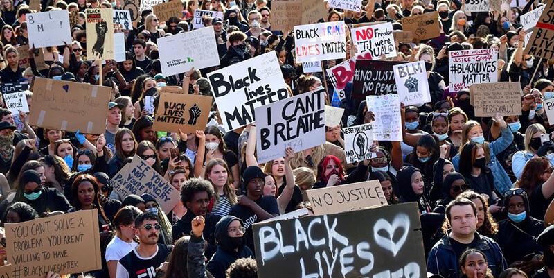Black Lives Matter(ブラック・ライブズ・マター。略称:BLM)のデモ活動