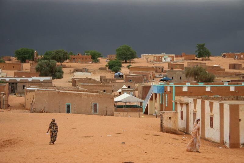 アフリカ北西部のモーリタニア・イスラム共和国